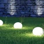 La lumière s'invite au jardin