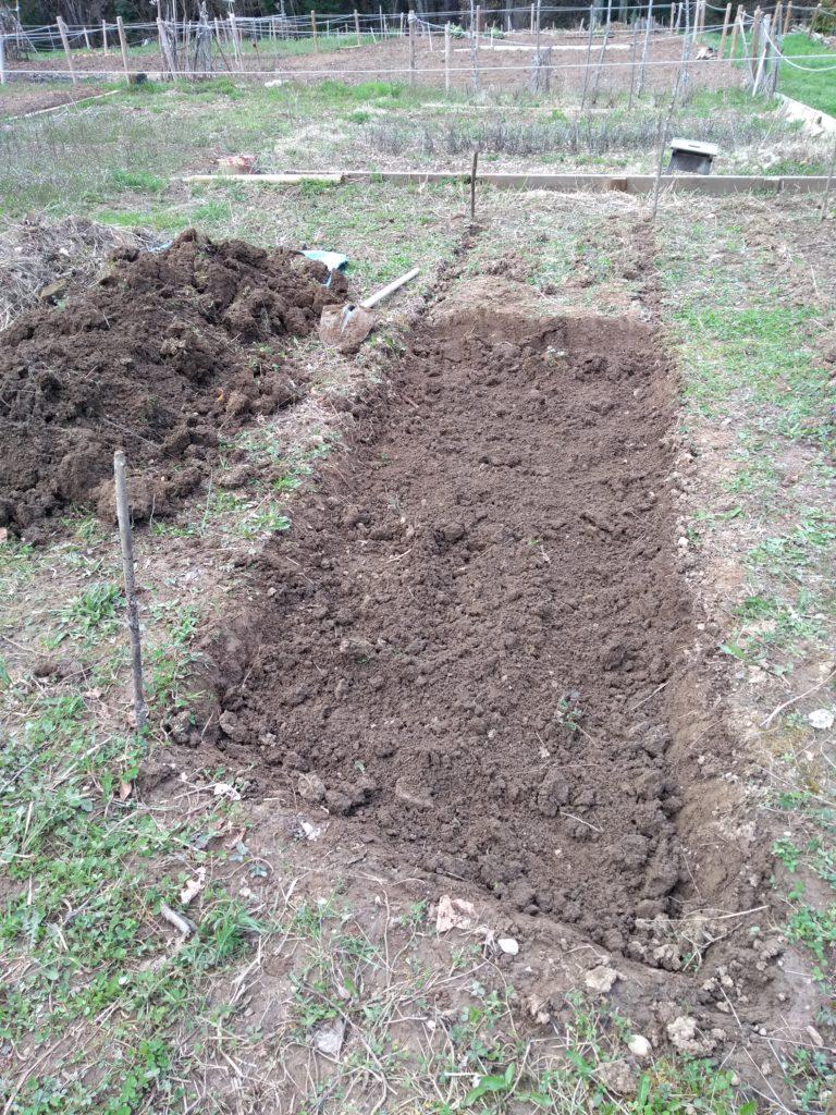 réalisation potager permaculture